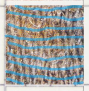1x1cm igen blått inslag